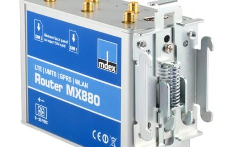 LTE-Router MX880 Seite Montage