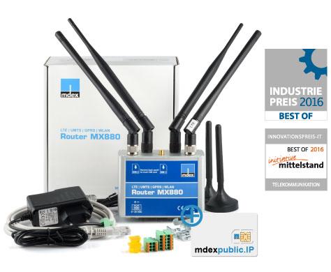 LTE pro Paket mit MX880