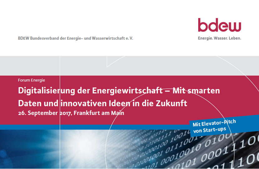bdew Forum Energie Digitalisierung