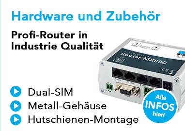 LTE-Router in Industrie-Qualität