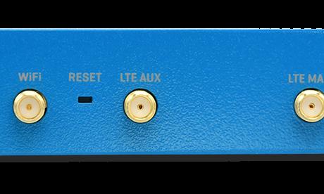 Industrie-Router mdex MX560 Rückseite für Hutschiene