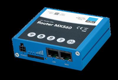 Industrie-Router mdex MX560 Vorderseite